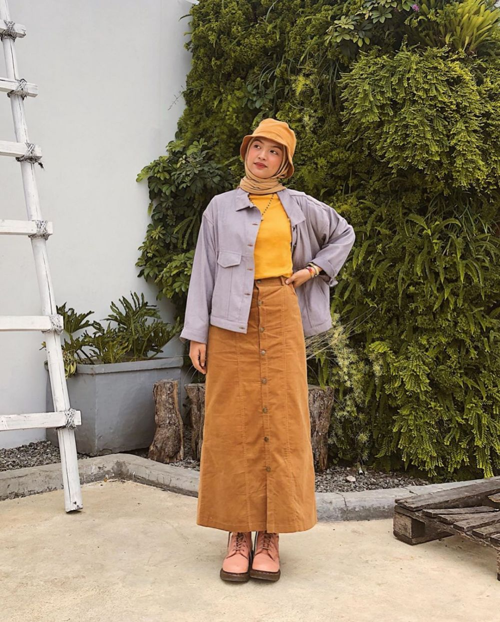 outfit earth tone